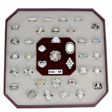 Load image into Gallery viewer, VK925-003-SIZE8 - Assorted 925 Sterling Silver Ring with Assorted  in Assorted
