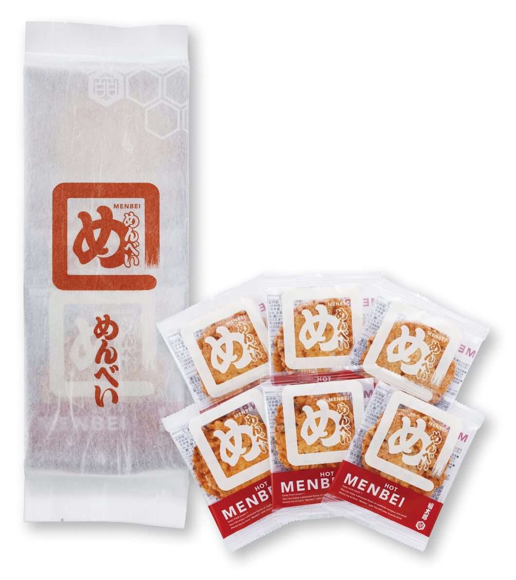 Menbei potato crackers 1 package