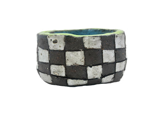 checkered bowl