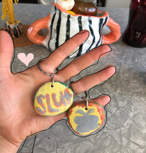 Load image into Gallery viewer, ceramic keychain