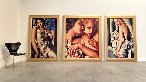 Prints of paintings by Tamara de Lempicka