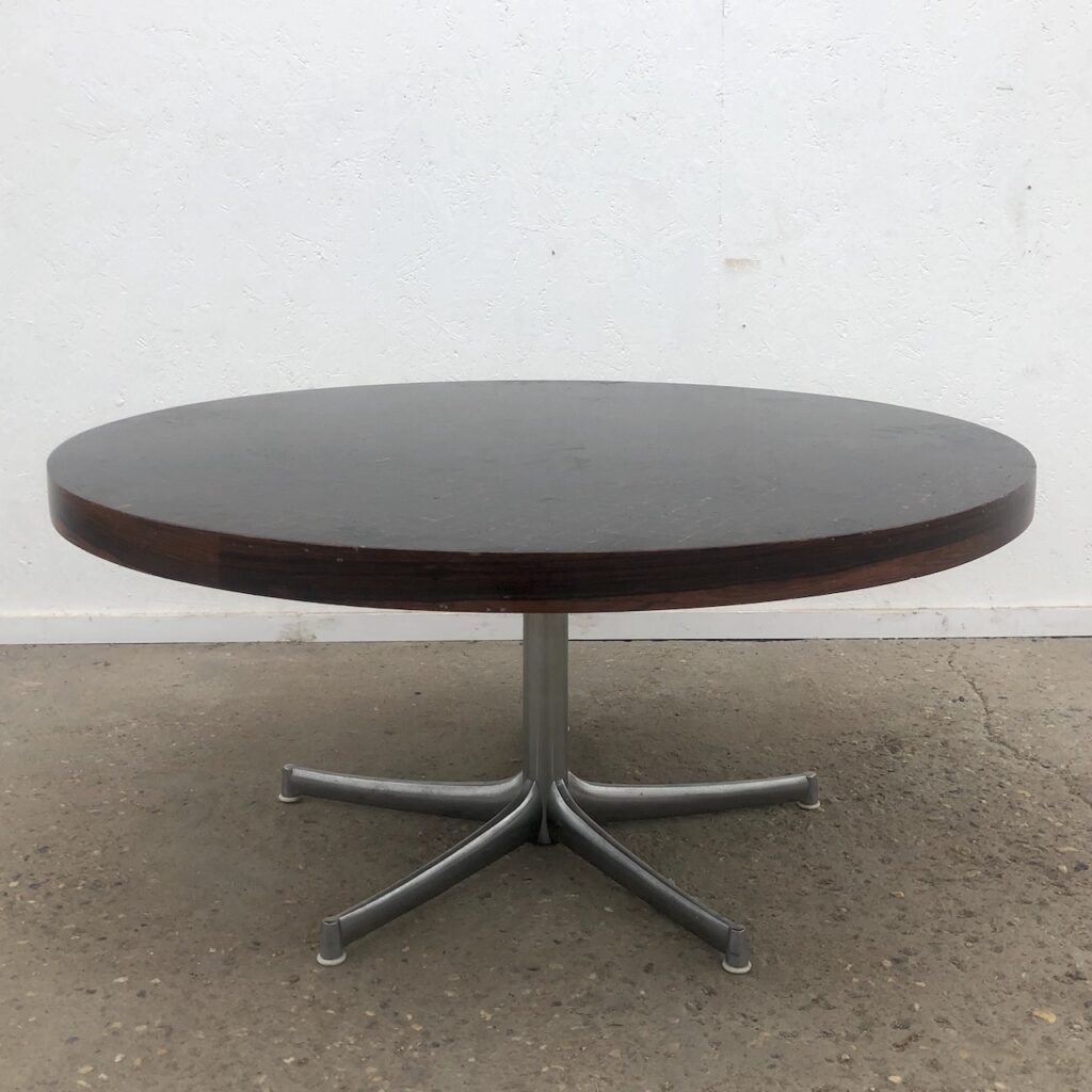 Vintage rosewood coffee table by Walter Knoll