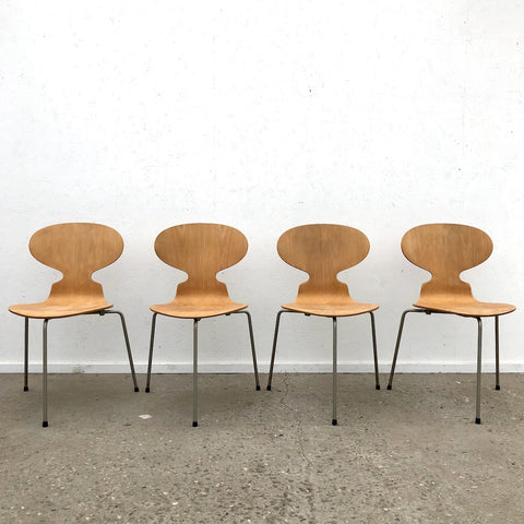 Three legged Ant chairs by Arne Jacobsen for Fritz Hansen, 1960s