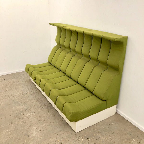 Space age sofa by Interlübke, 1970s