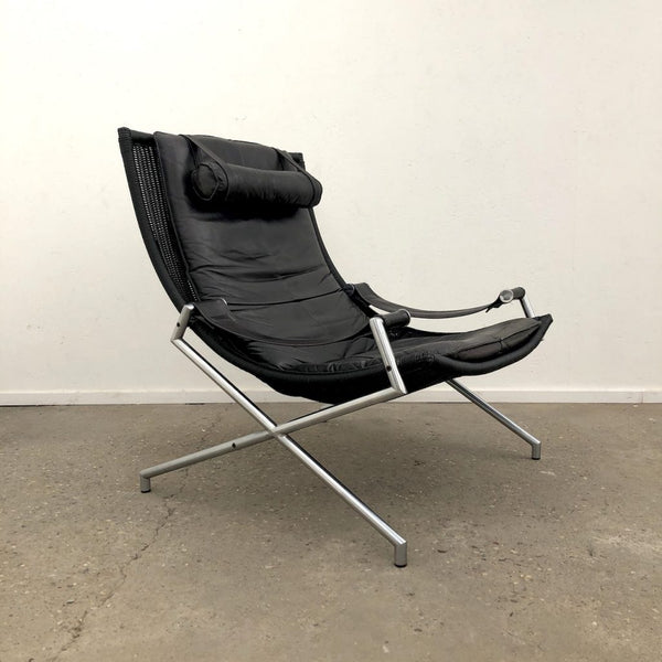 Lounge chair by Gerard van den Berg for Rohé, 1980s