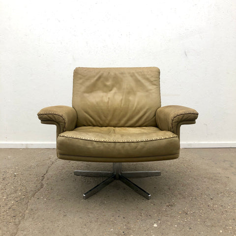 Lounge chair by De Sede, DS35, Swiss design 1970s