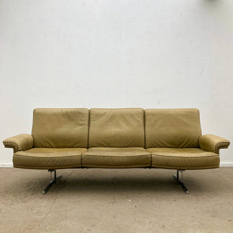 De Sede 3-seater sofa, model DS35, Swiss design 1970s