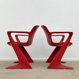 Z chair / Kangaroo chairs by Ernst Moeckl, Space Age 1960s Germany design