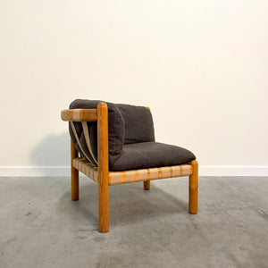Vintage Daumiller lounge chair for Hirtshals Savvaerk, 1970s