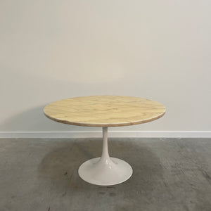 Mid Century marble dining table