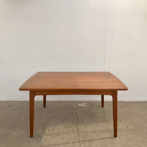 Large extendable dining table by Svend Aage Madsen, Denmark 1960s