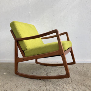Rocking chair by Ole Wanscher for France & Søn