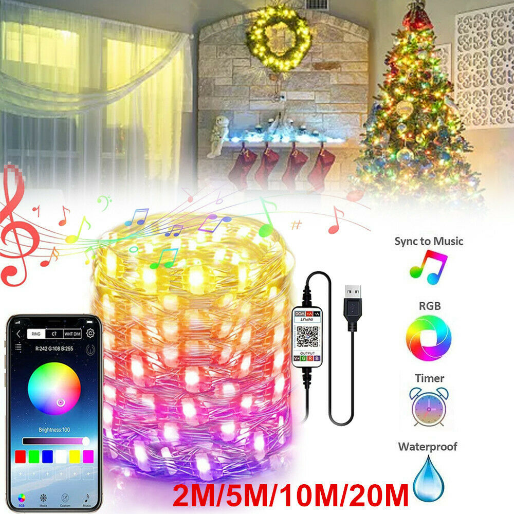 Bluetooth App Controlled LED Lights