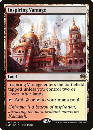 Inspiring Vantage [Kaladesh] | North Valley Games