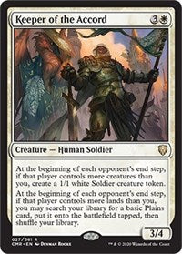 Keeper of the Accord [Commander Legends] | North Valley Games
