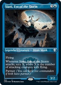 Siani, Eye of the Storm (Foil Etched) [Commander Legends] | North Valley Games