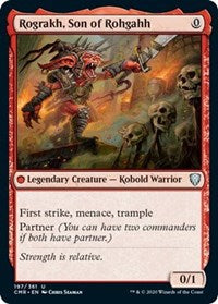 Rograkh, Son of Rohgahh [Commander Legends] | North Valley Games