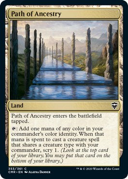 Path of Ancestry [Commander Legends] | North Valley Games
