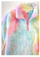 Load image into Gallery viewer, Milk Silk Tie Dye Sherpa - Youth