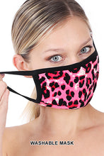 Load image into Gallery viewer, Pink Leopard Mask