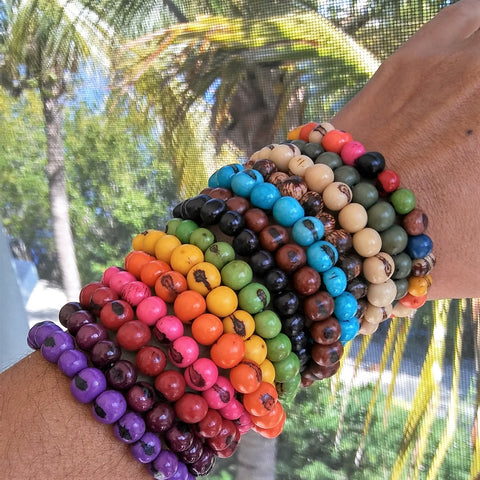 Acai Seeds Bracelets Sets - Handmade in the Amazon.
