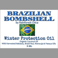 Brazilian Bombshell Winter Protection Body Oil - Rainforest Chica  - 3