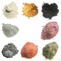 Brazilian Clay 8 colors - 1 oz.