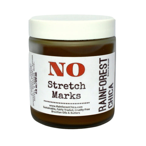 NO Stretch Marks - Brazilian Butters and Oils - helps to prevent and diminish the appearance.