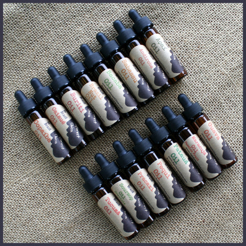 ALL 14 OILS - 2 dram  (8 ml)