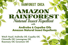 Amazon Rainforest - Natural Insect Repellent - Rainforest Chica  - 3