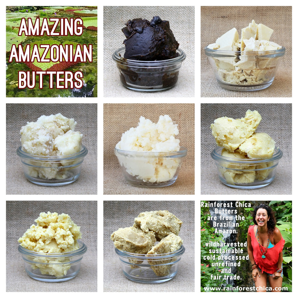 AMAZING AMAZONIAN BUTTER SAMPLER - 1 oz. of each.