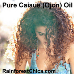 Caiaué (OJON™) Oil - Damaged and chemically treated hair. - Rainforest Chica  - 4