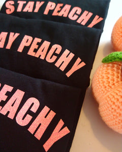 Stay Peachy Neon Glitter (Adults)