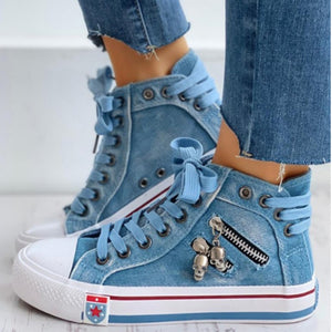Design Canvas Sneakers Shoes