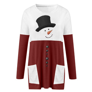 Cool Christmas Dress Sweater