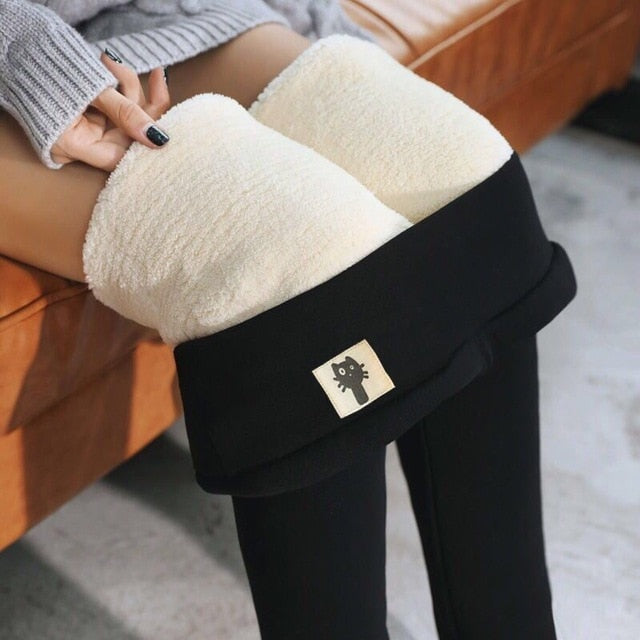Women Warm Leggings Winter