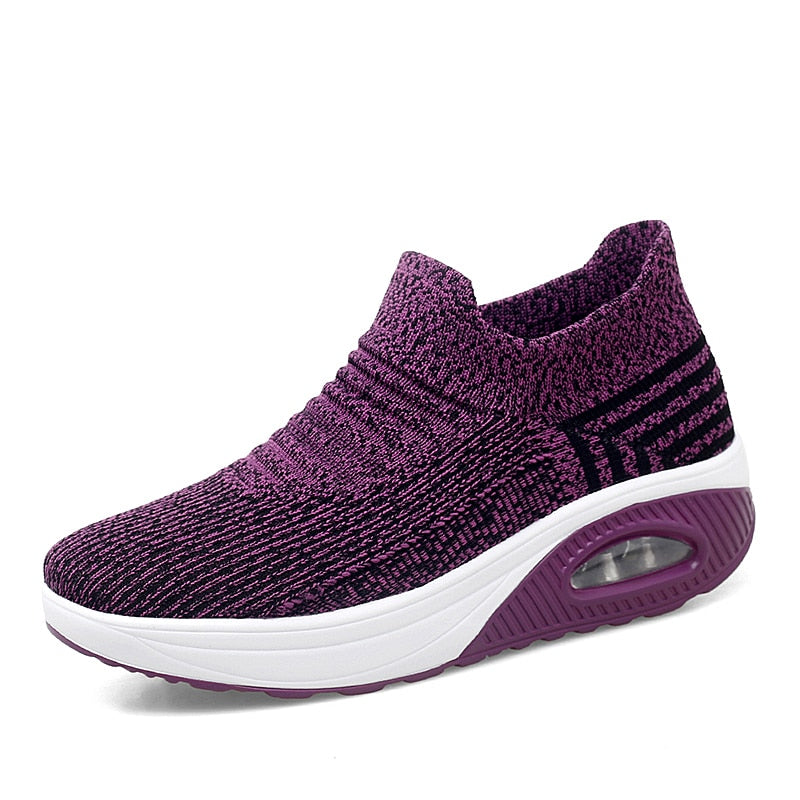 Slip-on Air Sole Shoes For Women