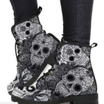 Womens Flat Ankle Boots