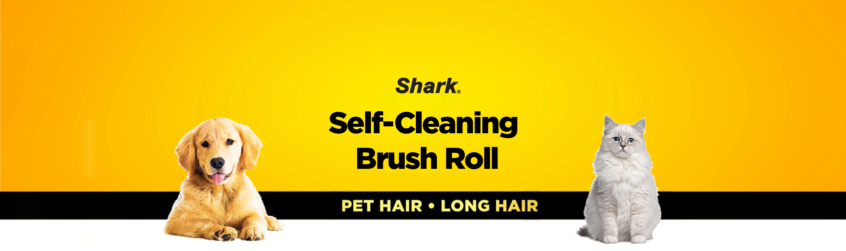 self-cleaning brush roll