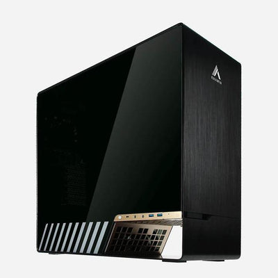 The nilvana AI workstation Alpha Tall is equipped with AMD CPU and Nvidia GPU RTX3070 RTX3090. The software provides a intuitive GUI and facial recognition , object detection and image recognition.