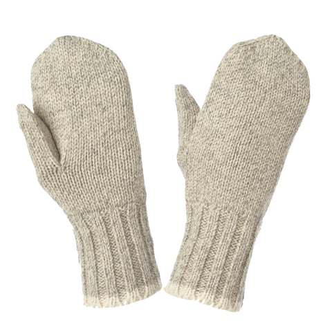 G33312 Brushed Rag Wool Lined Mitt