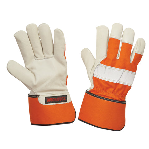 G79416 3M™ Thinsulate™ Insulation Lined Full Grain Hi-Vis Fitters Glove