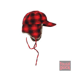 I16416 Plaid Fudd Hat