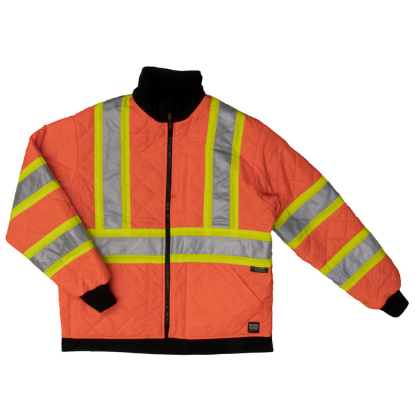 S241 Duck/Safety Reversible Jacket