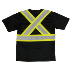 S392 Short-Sleeve Safety T-Shirt with Pocket