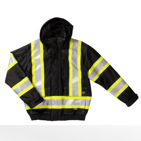 S413 3-in-1 Safety Bomber Jacket