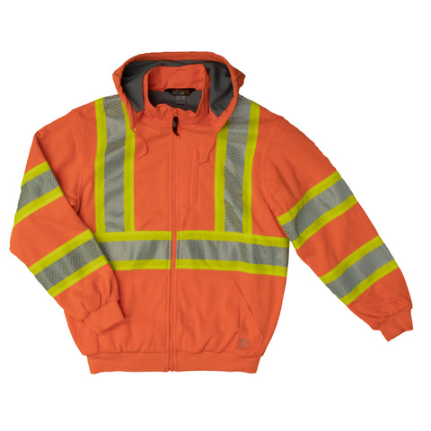 SJ16 Thermal Lined Safety Hoodie