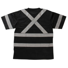 ST07 S/S Safety T-Shirt with Segmented Stripes