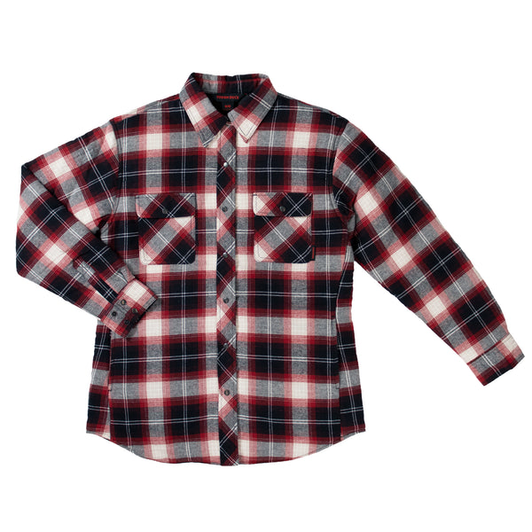 WS11 Women's Quilt-Lined Flannel Shirt