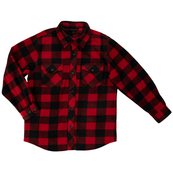 I964 Buffalo Check Fleece Shirt